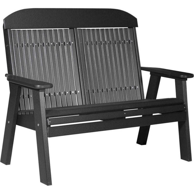 Classic Outdoor 4' Bench Black