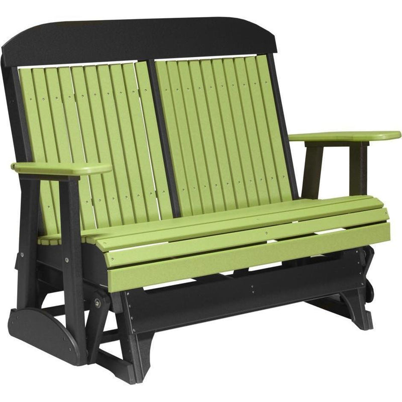4' Classic Glider Lime Green & Black