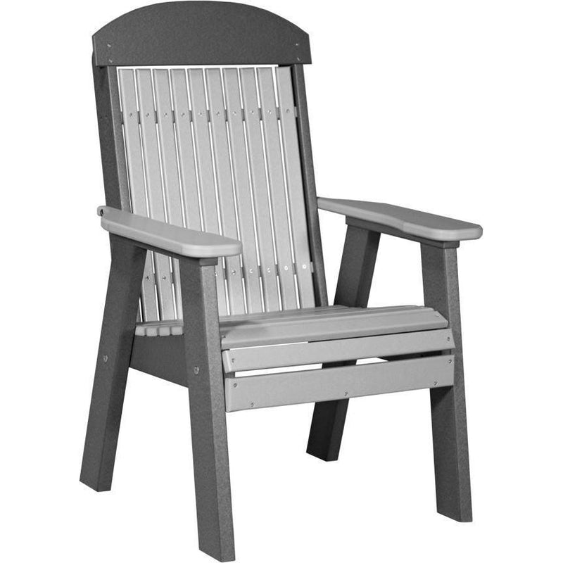 Classic Outdoor Bench Chair Dover Grey & Slate
