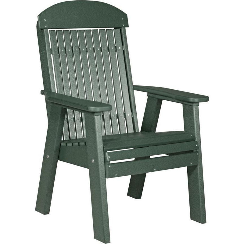 Classic Outdoor Bench Chair Green