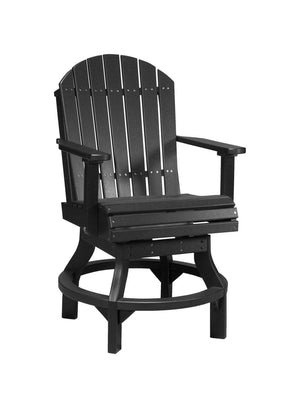 Luxcraft PolyTuf Adirondack Swivel Chair