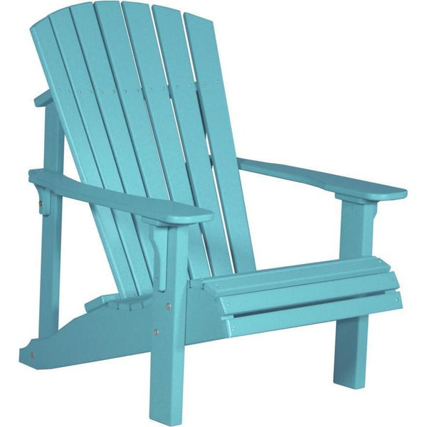 Deluxe Adirondack Chair Aruba Blue
