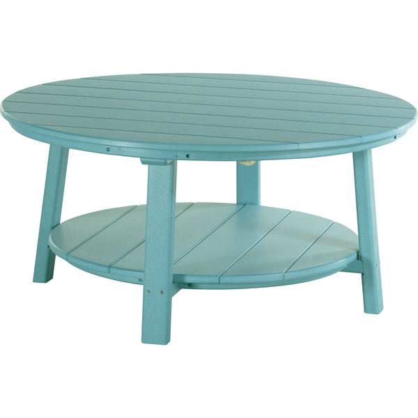 Outdoor Deluxe Conversation Table Aruba Blue