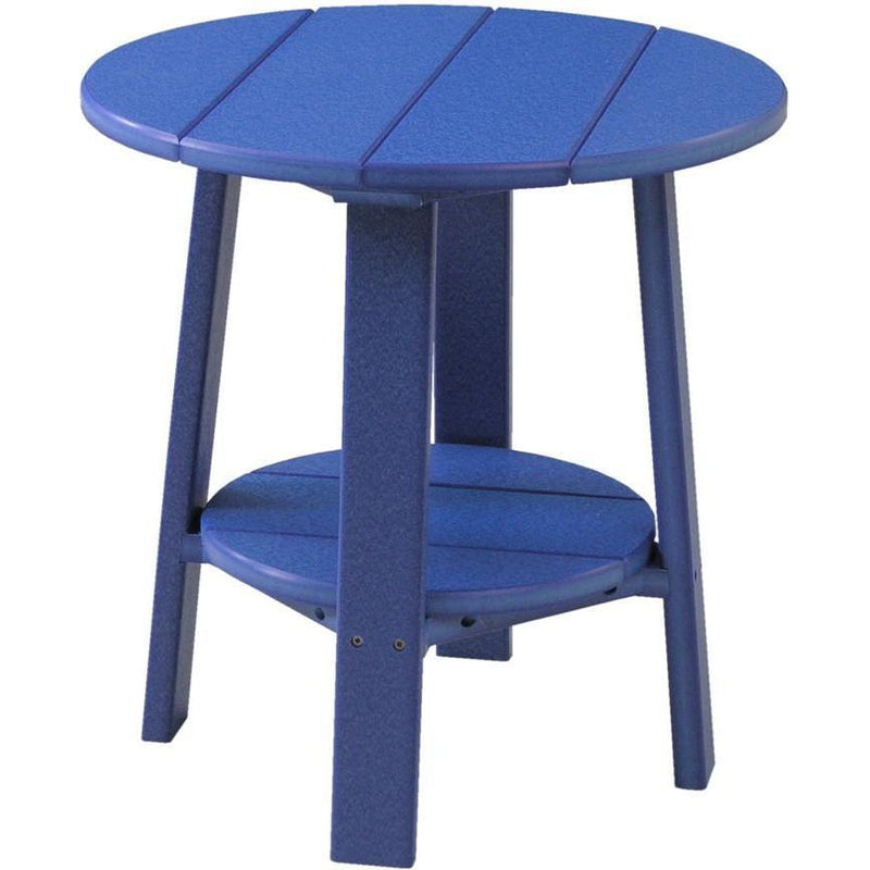 Outdoor Deluxe End Table Blue