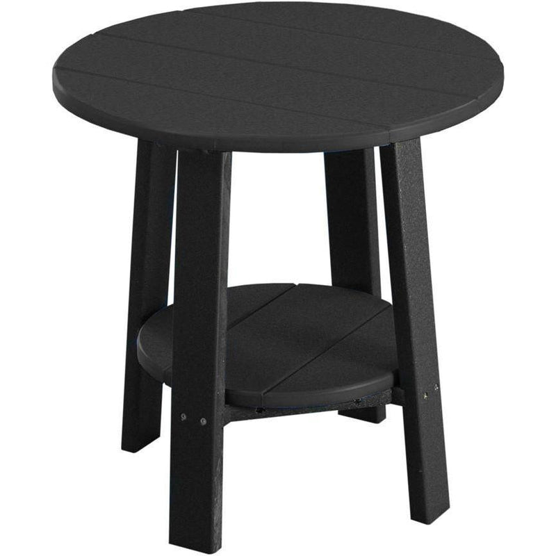 Outdoor Deluxe End Table Black