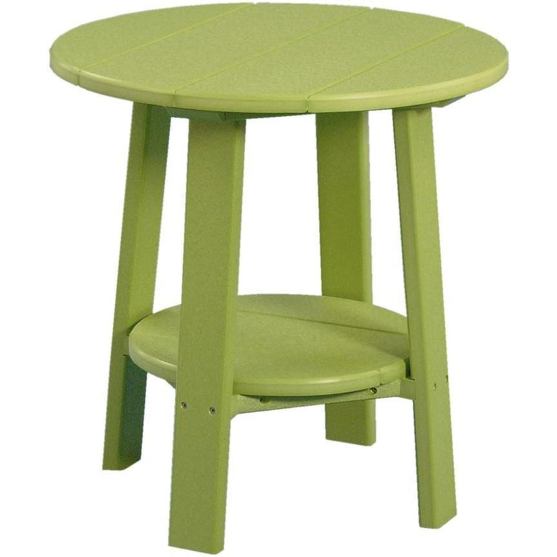Outdoor Deluxe End Table Lime Green