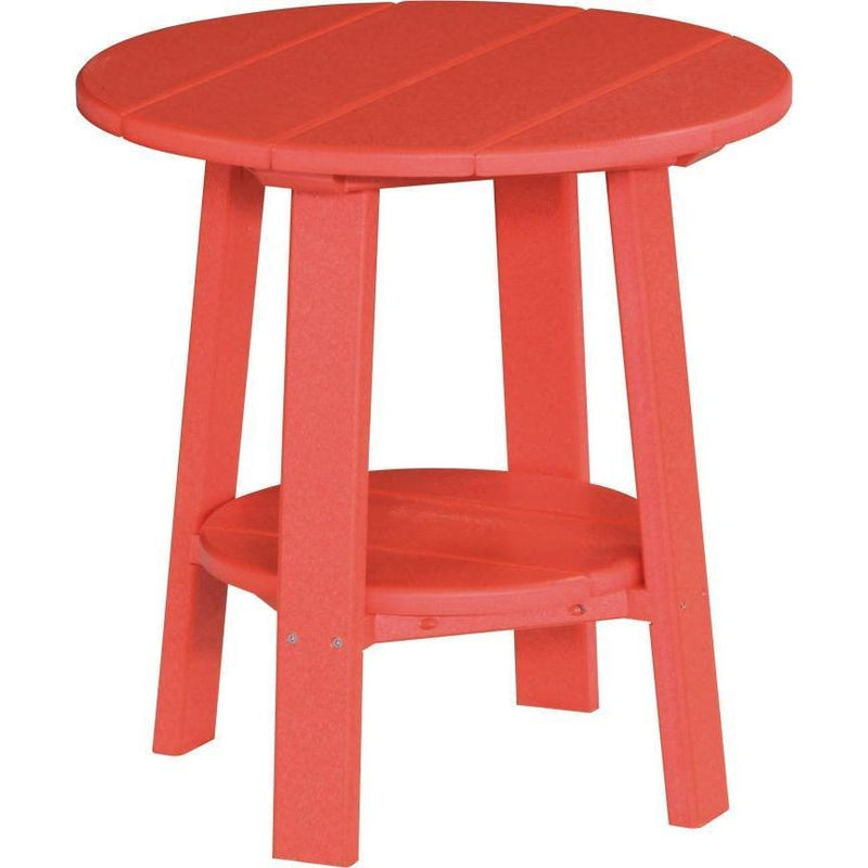 Outdoor Deluxe End Table Red