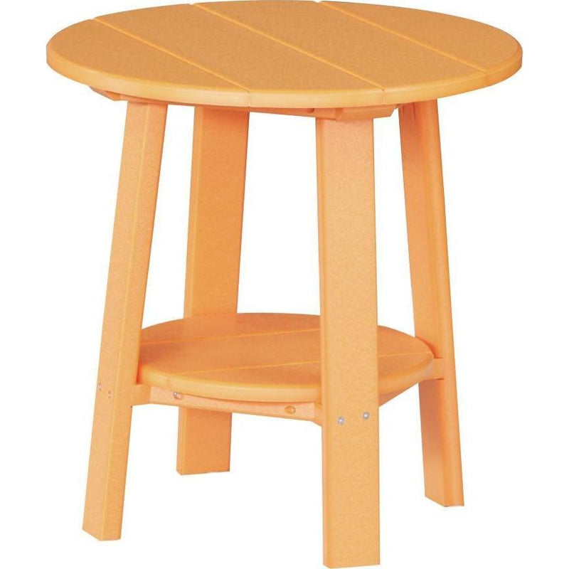 Outdoor Deluxe End Table Tangerine