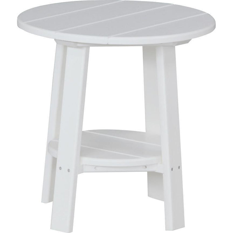 Outdoor Deluxe End Table White