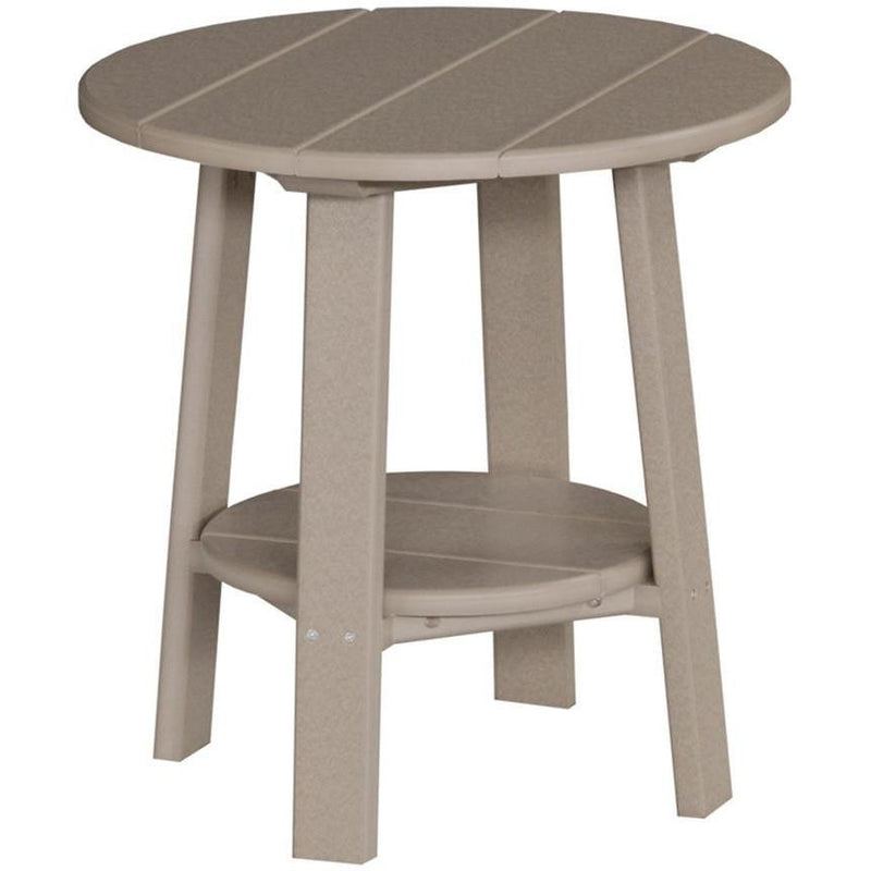 Outdoor Deluxe End Table Weatherwood