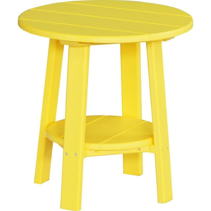 Outdoor Deluxe End Table Yellow