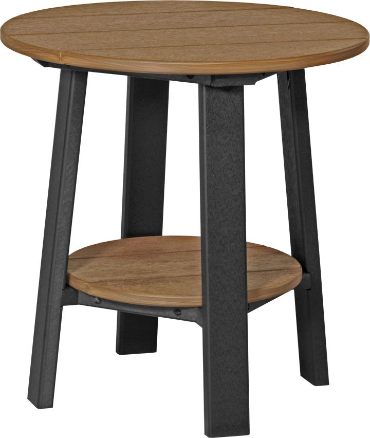 Amish Outdoor Deluxe End Table