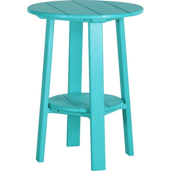 "Outdoor 28"" Deluxe End Table   Aruba Blue"