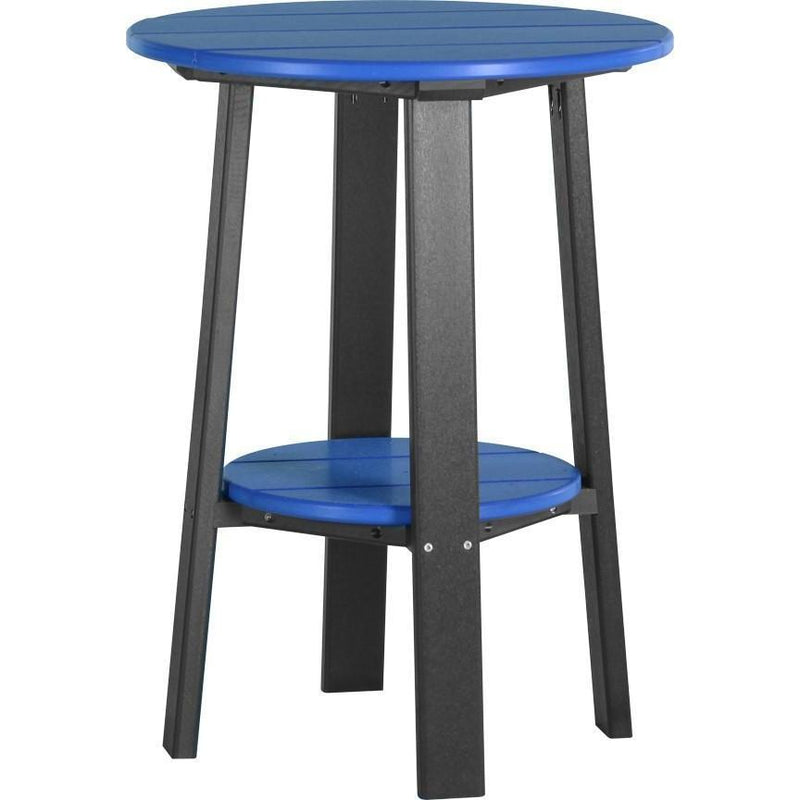 "Outdoor 28"" Deluxe End Table   Blue & Black"