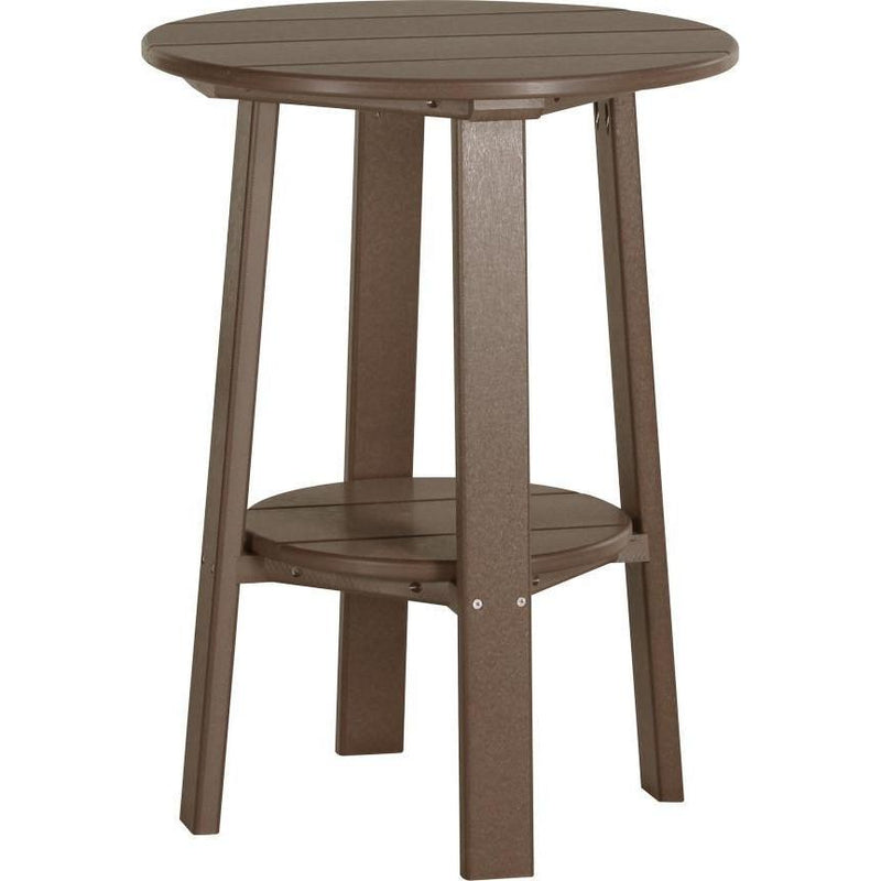 "Outdoor 28"" Deluxe End Table   Chestnut Brown"