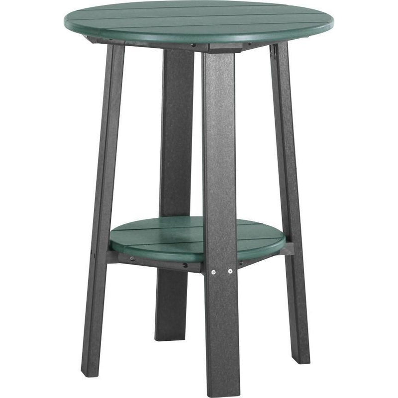 "Outdoor 28"" Deluxe End Table   Green & Black"