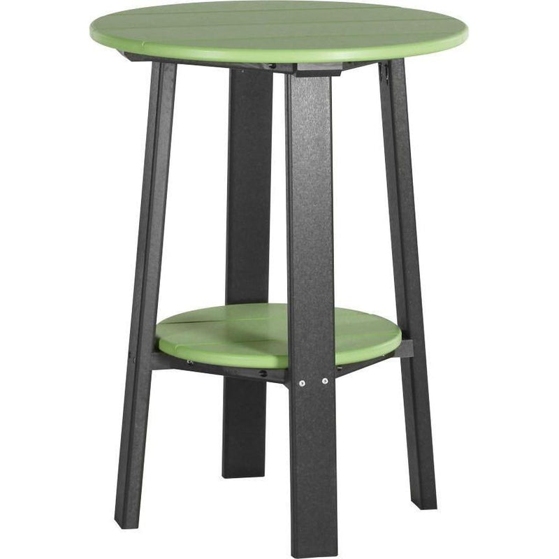 "Outdoor 28"" Deluxe End Table   Lime Green & Black"