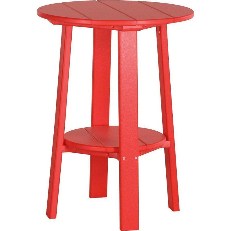 "Outdoor 28"" Deluxe End Table   Red"