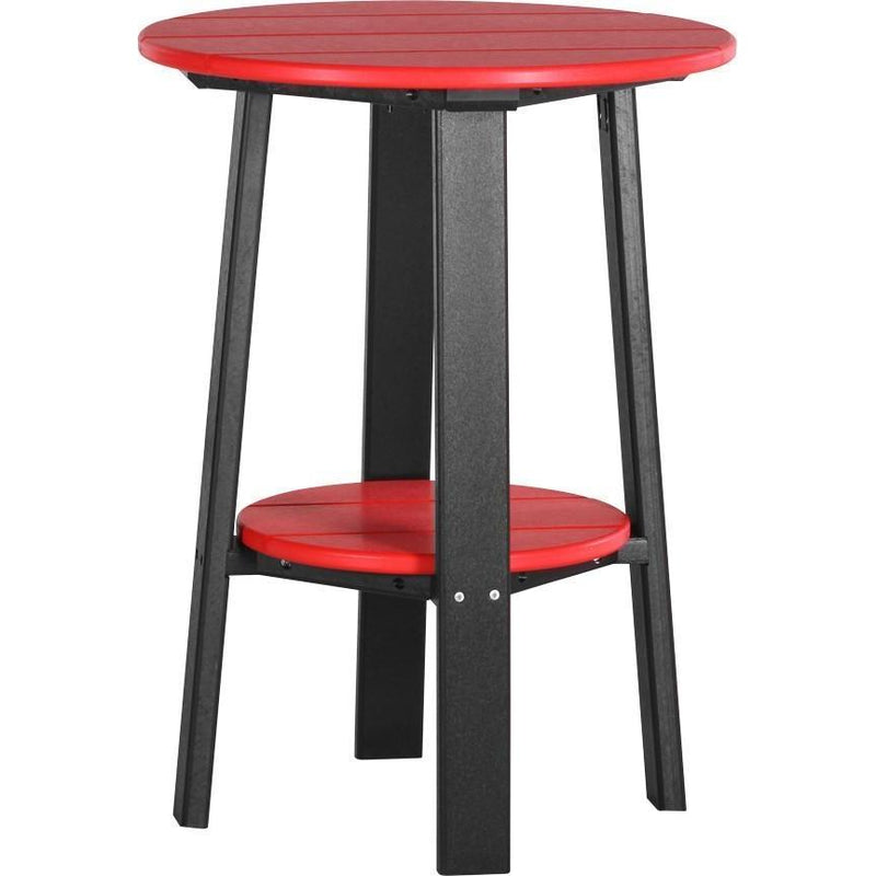 "Outdoor 28"" Deluxe End Table   Red & Black"