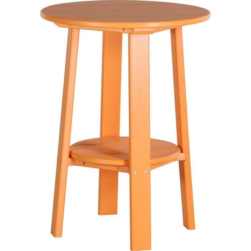 "Outdoor 28"" Deluxe End Table   Tangerine"