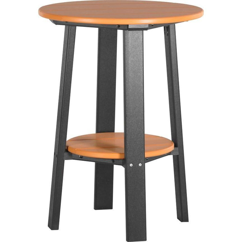 "Outdoor 28"" Deluxe End Table   Tangerine & Black"