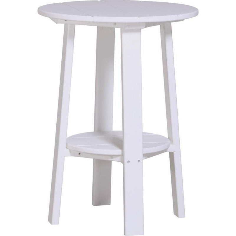 "Outdoor 28"" Deluxe End Table   White"