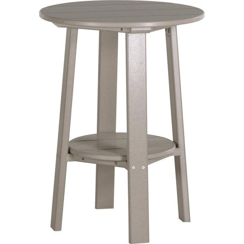 "Outdoor 28"" Deluxe End Table   Weatherwood"