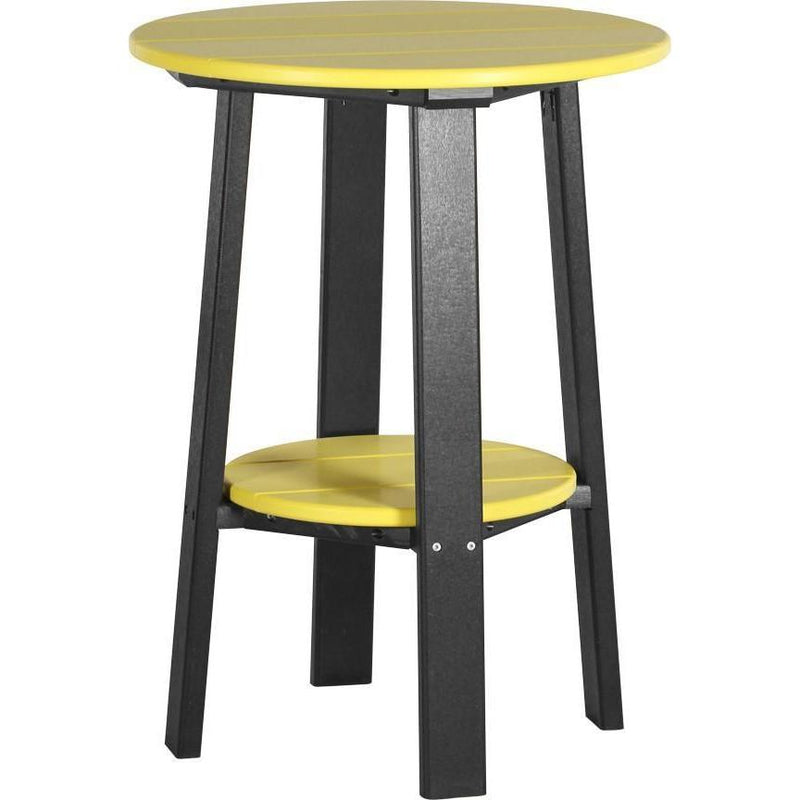 "Outdoor 28"" Deluxe End Table   Yellow & Black"