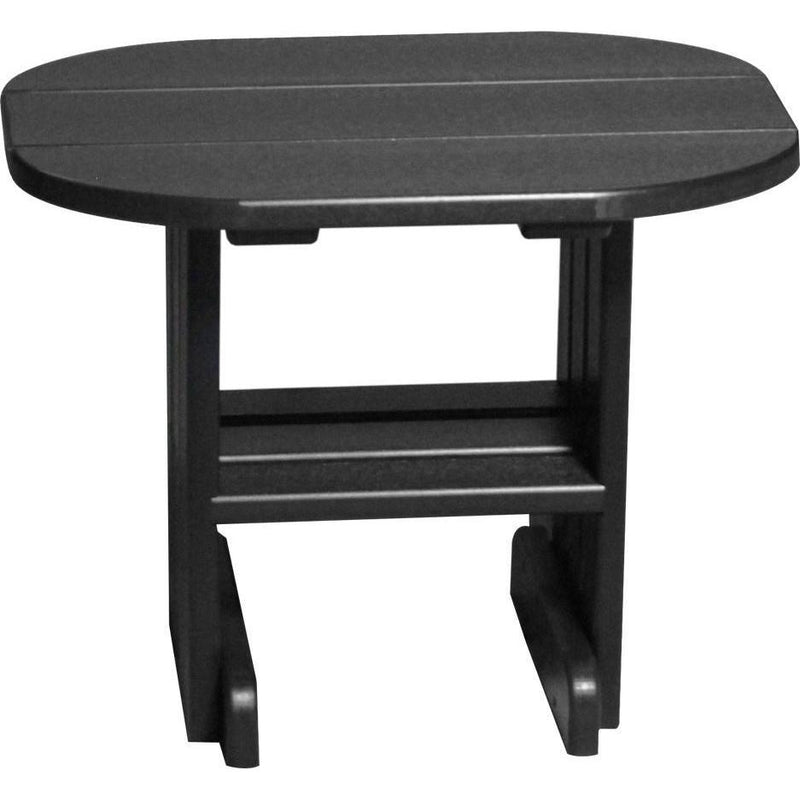Outdoor End Table Black