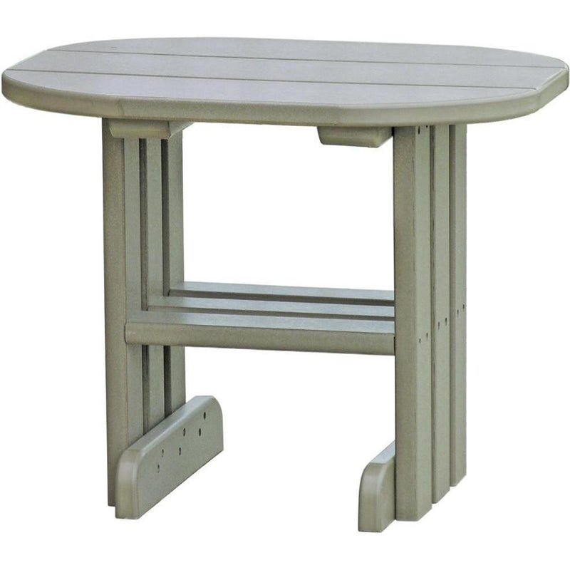 Outdoor End Table Weatherwood