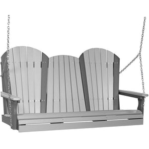 5' Adirondack Swing Dove Grey & Slate