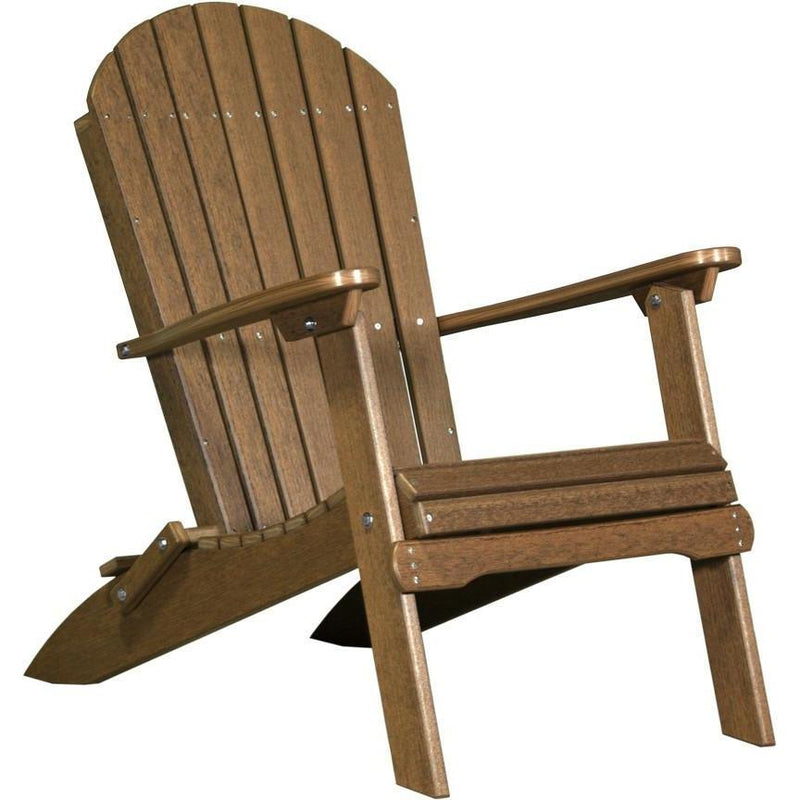Folding Adirondack Chair Antique Mahogany