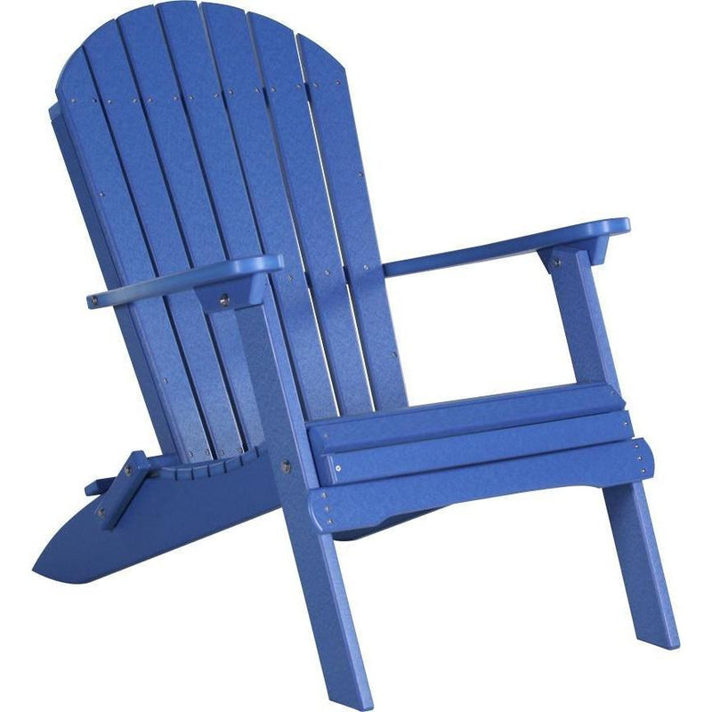 Folding Adirondack Chair Blue