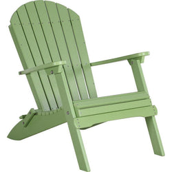 Folding Adirondack Chair Lime Green
