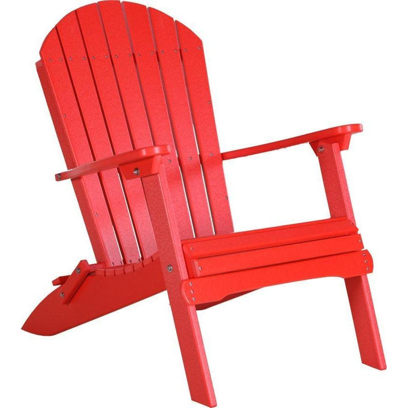 Folding Adirondack Chair Red
