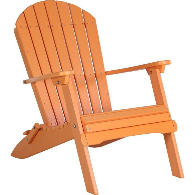 Folding Adirondack Chair Tangerine