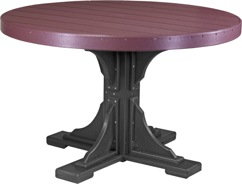 Luxcraft PolyTuf 4' Round Table