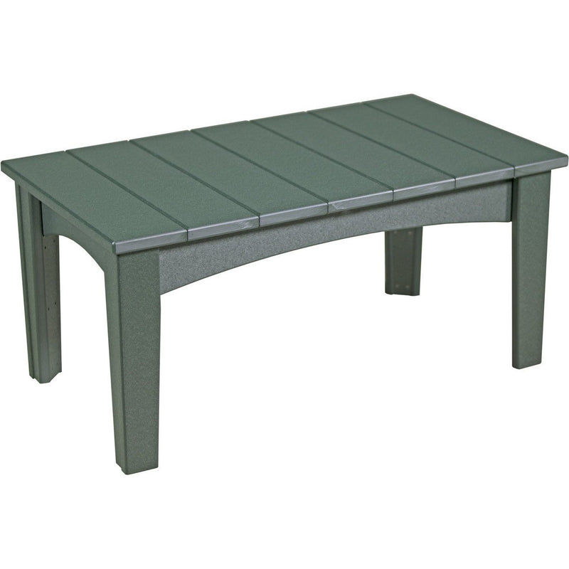Island Coffee Table Green