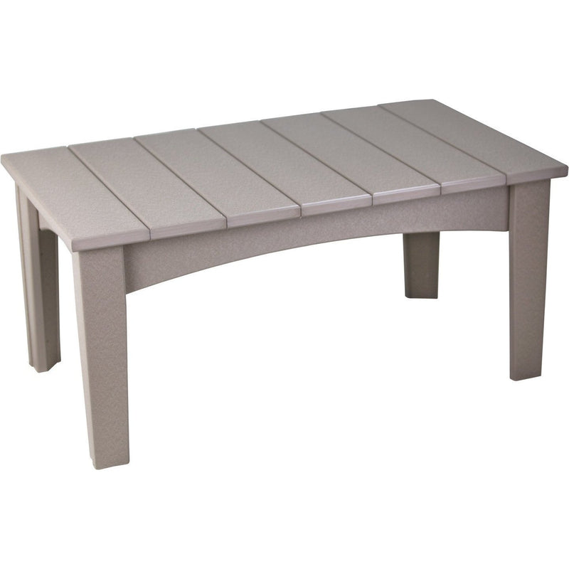 Island Coffee Table Weatherwood
