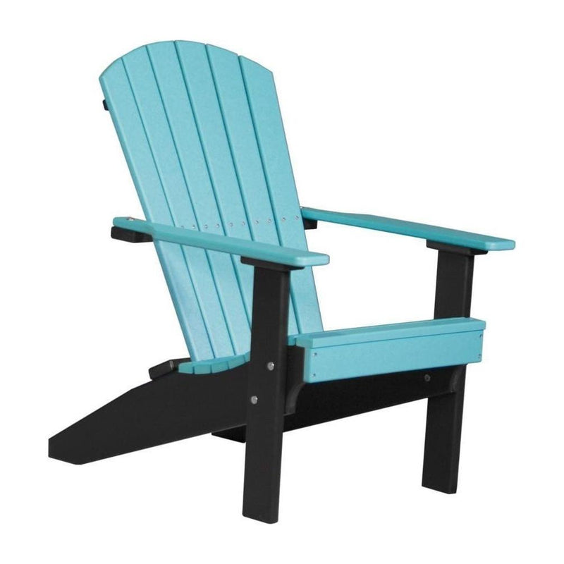 Lakeside Adirondack Chair Aruba Blue & Black