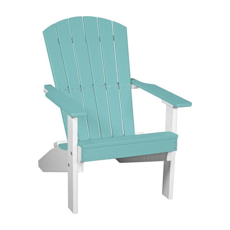 Lakeside Adirondack Chair Aruba Blue & White