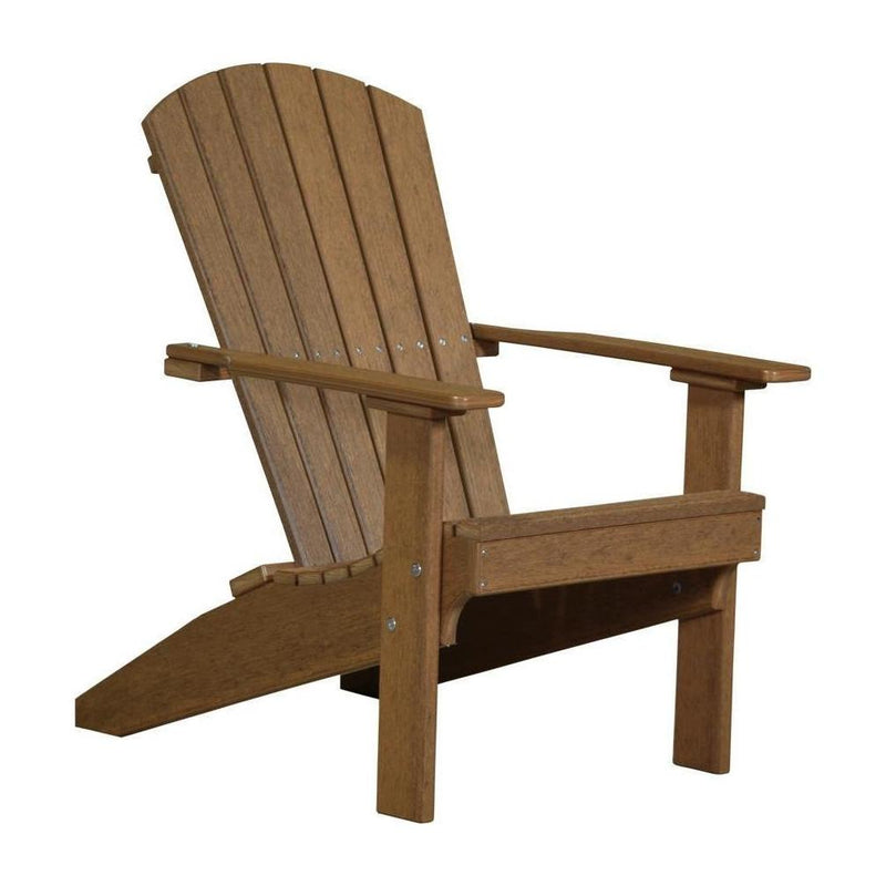 Lakeside Adirondack Chair Antique Mahogany