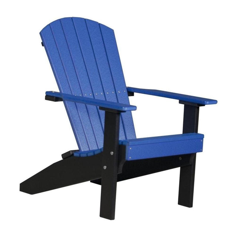 Lakeside Adirondack Chair Blue & Black