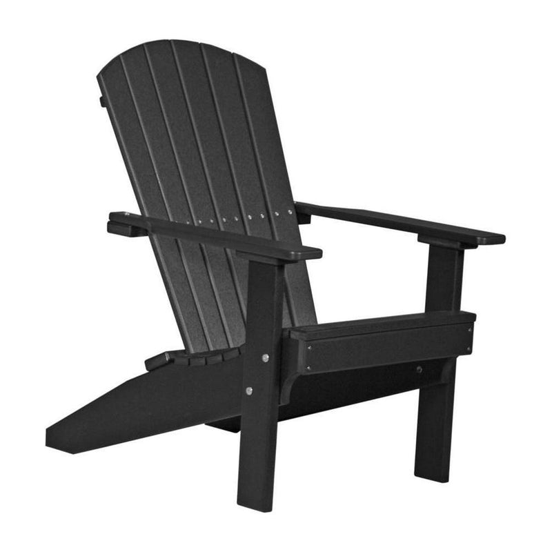 Lakeside Adirondack Chair Black