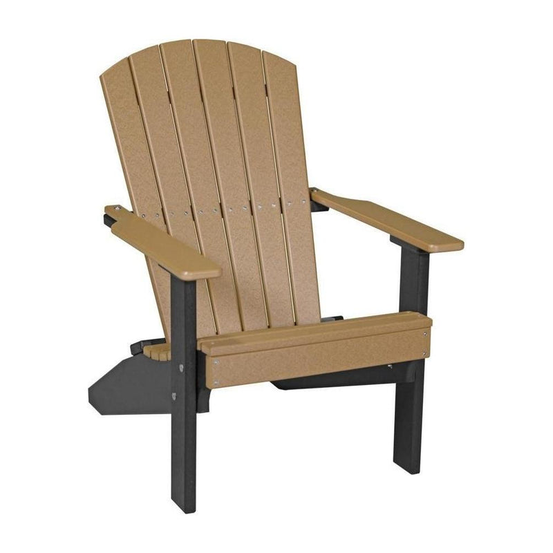 Lakeside Adirondack Chair Cedar & Black