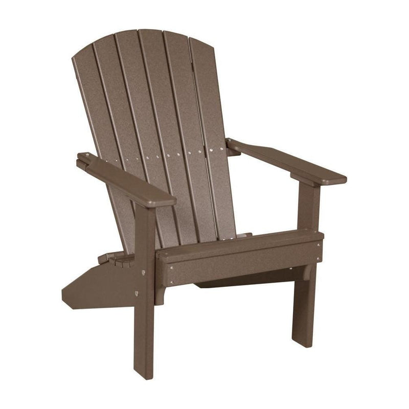 Lakeside Adirondack Chair Chestnut Brown