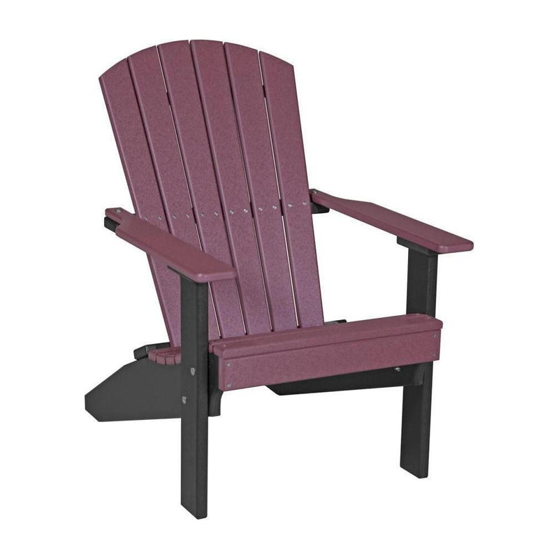 Lakeside Adirondack Chair Cherrywood & Black