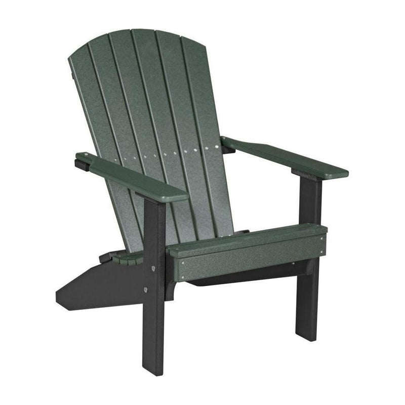 Lakeside Adirondack Chair Green & Black
