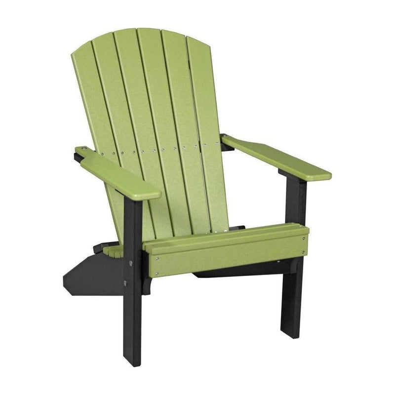 Lakeside Adirondack Chair Lime Green & Black