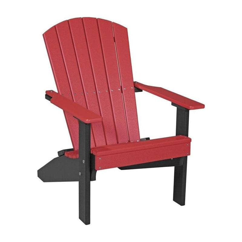 Lakeside Adirondack Chair Red & Black